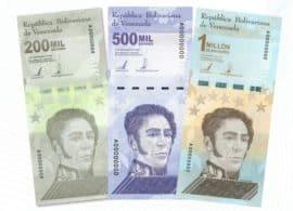Hyperinflation, Banknoten, Geldscheine, Million, Venezuela