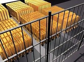 Gold, Goldbarren, Banken