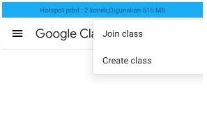 Aplikasi Google Classroom untuk guru