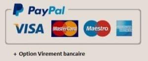 Paiement option paiement sécurisé développement personnel boutique