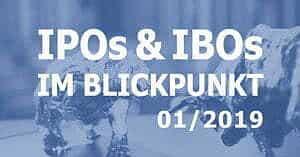 IPOs & IBOs 06/2019