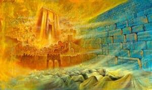 abstract jerusalem art
