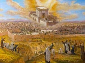 temple jerusalem painting