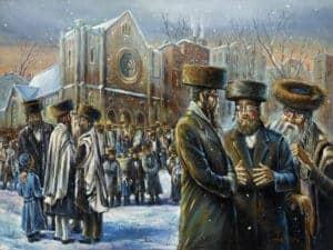 Williamsburg synagogue
