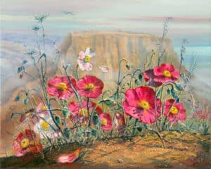 Masada Painting