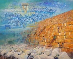 jerusalem wall art