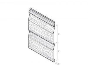 Kaycan Hardwood Valley II Wood Vinyl Siding Dutchlap Profile