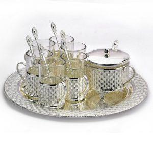 Silver Plated Tea Set – Silver Plated Kawa Set