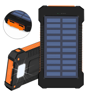 Solar Power Bank - 10,000 mah