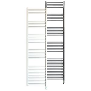 Rointe Giza Pro electric towel rail 1000W in white or chrome