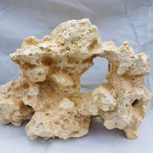 Large White Rock, Aquarium Ornament