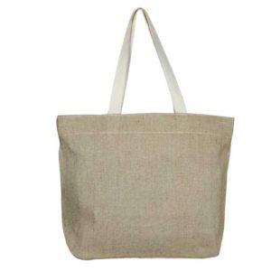 EcoRight-Jute-Canvas-Reusble-Tote-Bag-with-zipper