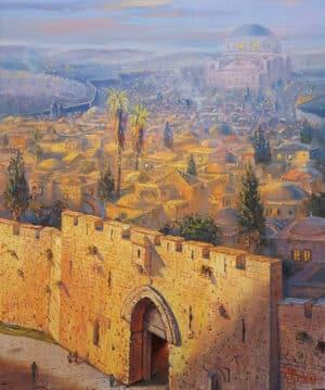 Zion Gate in Jerusalem