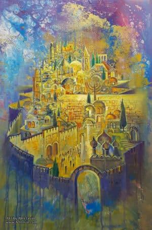 jerusalem contemporary painting