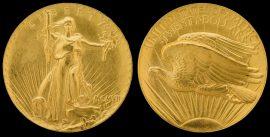Goldmünze, Double Eagle, Auktion