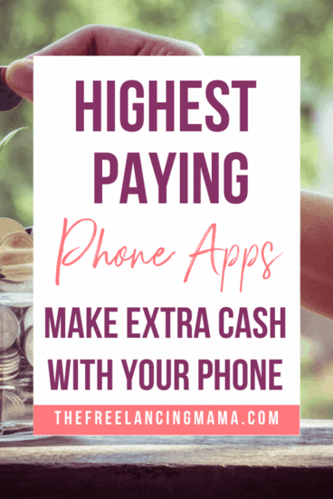 make extra money from your phone with the highest paying smartphone apps. Earn extra cash with these Android and iPhone apps