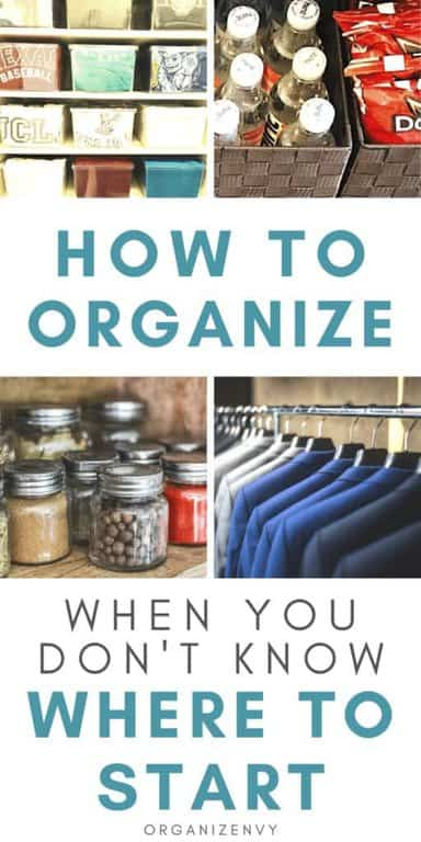 Organizing Your Home: A Beginner's Guide
