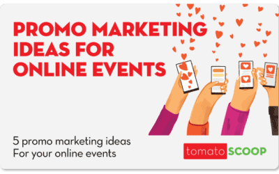 5 Promo Marketing Ideas For Your Online Events