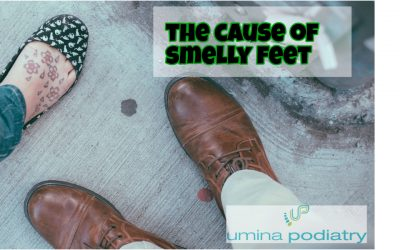 The Cause of Smelly Feet
