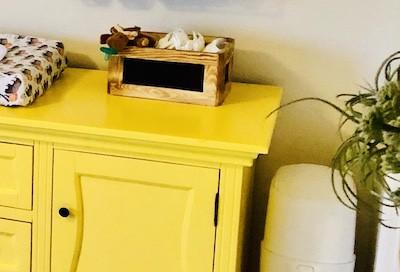 Nursery Organization: Changing Table Storage