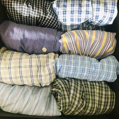 DIY Bedroom Organization - File Folding Boxers