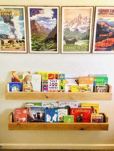 Nursery Organization: Book Storage Ideas