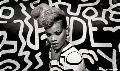Rihanna's music video for 'Rude Boy'
