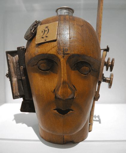 Raoul Hausmann, Mechanical Head (The Spirit of our Time), 1920