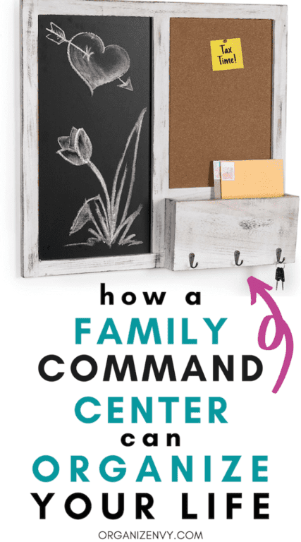 How a Family Command Center Can Organize Your Life