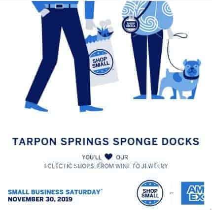 2020 Small Business Saturday in Tarpon Springs