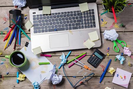 Organize Home Office Supplies - Declutter