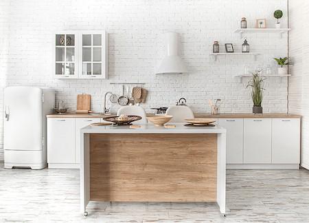 Organize a small kitchen