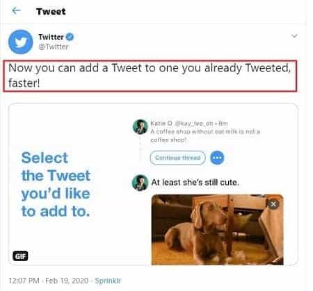 """continue thread"" option"