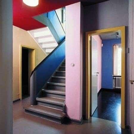 Interior of the Kandinsky/Klee house