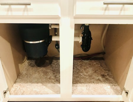Organize Under the Kitchen Sink: Clear the Space