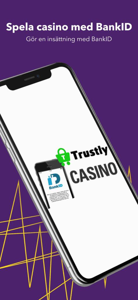 Gör en insättning med BankID via Trustly
