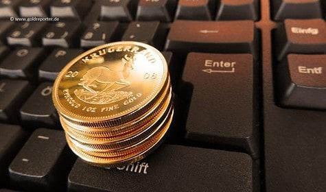 Gold, Gold kaufen, Online, Internet, Betrüger (Foto: Goldreporter)