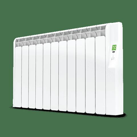 Rointe Kyros 11 element smart timer aluminium oil filled radiator in white