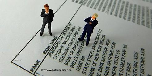 Gold, Silber, JP Morgan (Foto: Goldreporter)