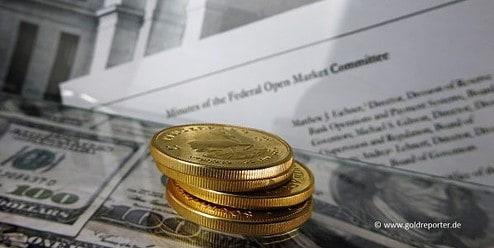 Gold, Goldpreis, Fed-Minutes