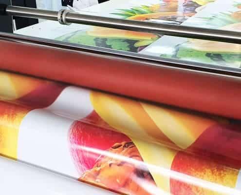 Reklame Laminieren von Digitaldrucken Autofolierung LKW Bremen