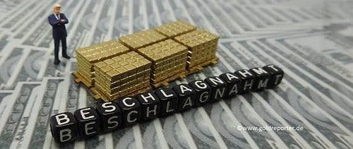 Gold, Beschlagnahmung (Foto: Goldreporter)