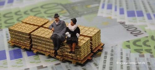 Gold, Goldbarren, Anlage (Foto: Goldreporter)