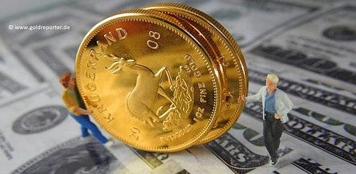 Gold, Goldpreis, Goldmünzen (Foto: Goldreporter)