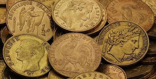 Goldmünzen 20 Francs