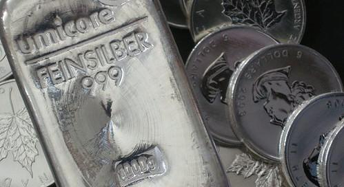 Silber, Silberbarren, Silberpreis (Foto: Goldreporter)