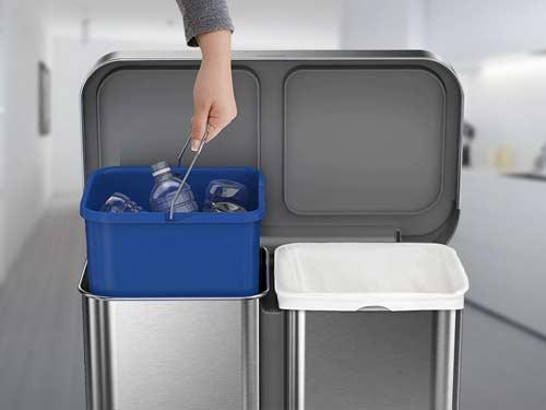 kitchen-recycling-bins