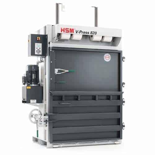 hsm-v-press-820-cardboard-baler