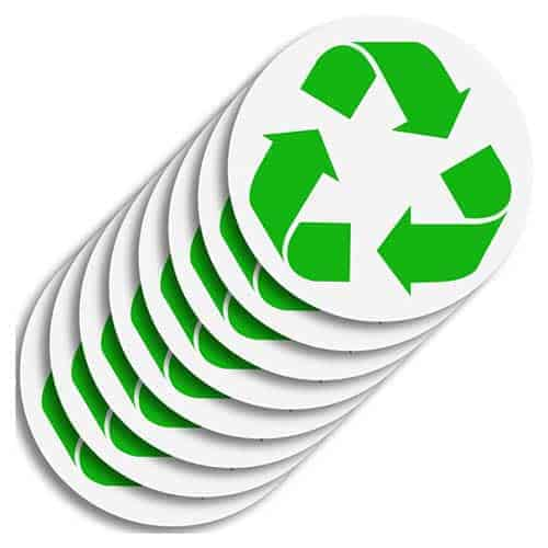 8-pack-Recycle-Logo-Sticker-to-Organize-Your-Trash
