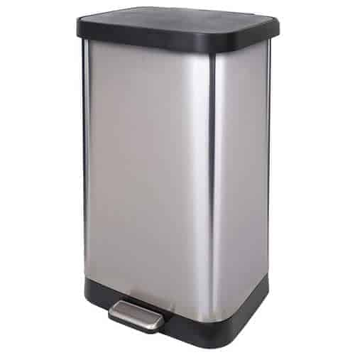 Glad-GLD-74507-stainless-steel-large-kitchen-trash-can
